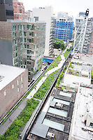 The High Line in the west side of Manhattan, New York, USA