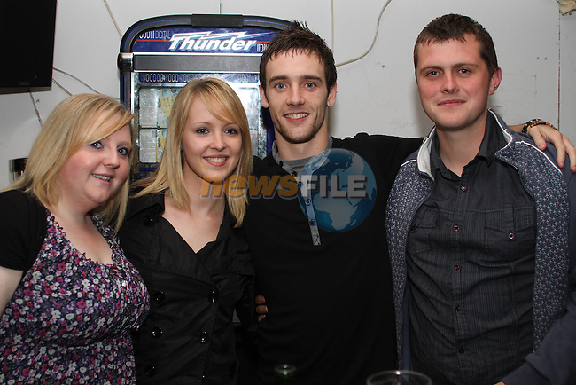 Suzanne Coleman, Leah Kearns, John McGinn and Michael Connolly in McPhails...Picture Jenny Matthews/Newsfile.ie
