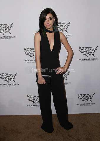 HOLLYWOOD, CA - MAY 07: Christina Grimmie attends The Humane Society of the United States' to the Rescue Gala at Paramount Studios on May 7, 2016 in Hollywood, California. Credit: Parisa/MediaPunch.