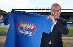 Ally McCoist at Ibrox Stadium celebrating his first success as manager of Rangers FC.. Stage 1 complete