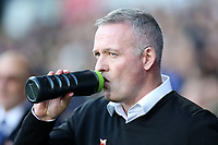 New Ipswich Town manager Paul Lambert before kick  off<br /> <br /> Photographer David Shipman/CameraSport<br /> <br /> The EFL Sky Bet Championship - Ipswich Town v Preston North End - Saturday 3rd November 2018 - Portman Road - Ipswich<br /> <br /> World Copyright &copy; 2018 CameraSport. All rights reserved. 43 Linden Ave. Countesthorpe. Leicester. England. LE8 5PG - Tel: +44 (0) 116 277 4147 - admin@camerasport.com - www.camerasport.com