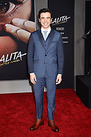 WESTWOOD, CA - FEBRUARY 05: Keean Johnson attends the Premiere Of 20th Century Fox's 'Alita: Battle Angel' at Westwood Regency Theater on February 05, 2019 in Los Angeles, California.<br /> CAP/ROT/TM<br /> ©TM/ROT/Capital Pictures