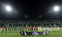 MEDELLÍN -COLOMBIA-10-05-2017: Atlético Nacional de Colombia y Chapecoense de Brasil en partido de vuelta por la final de la CONMEBOL Recopa Sudamericana 2017 jugado en el estadio Atanasio Girardot de la ciudad de Medellín. / Atletico Nacional of Colombia and Chapecoense of Brazil in final second leg match of the CONMEBOL Recopa Sudamericana 2017 played at Atanasio Girardot stadium in Medellin city. Photo: VizzorImage / Gabriel Aponte / Staff