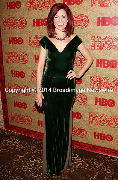 Pictured: Carrie Preston<br /> Mandatory Credit &copy; Frederick Taylor/Broadimage<br /> HBO's Post 2014 Golden Globe Awards Party - Arrivals<br /> <br /> 1/12/14, Los Angeles, California, United States of America<br /> <br /> Broadimage Newswire<br /> Los Angeles 1+  (310) 301-1027<br /> New York      1+  (646) 827-9134<br /> sales@broadimage.com<br /> http://www.broadimage.com