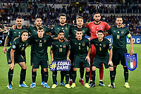 Italy Team photo line up <br /> Roma 12-10-2019 Stadio Olimpico <br /> European Qualifiers Qualifying round Group J <br /> Italy - Greece <br /> Photo Andrea Staccioli/Insidefoto