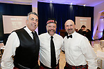 Southington, CT- 03 May 2017-050317CM15-  Social moments from left, Joe Gugliotti, with the board of directors and Frank J. Monteiro, and Mike Goralski, both campaign chairs, are photographed during a United Way of Greater Waterbury celebration at the Aqua Turf on Wednesday.         Christopher Massa Republican-American