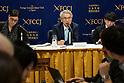 Carlos Ghosn's lawyer Junichiro Hironaka speaks at FCCJ