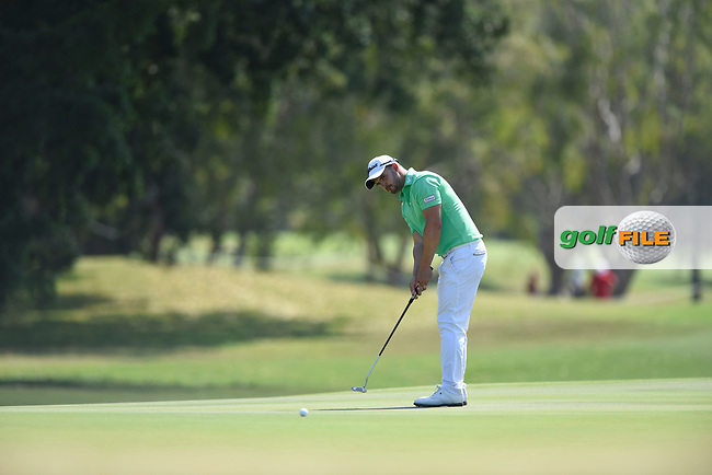 Christopher Wood (NZL) during the 3rd round of the Australian PGA Championship, Royal Pines Resort Golf Course, Benowa, Queensland, Australia. 01/12/2018<br /> Picture: Golffile | Anthony Powter<br /> <br /> <br /> All photo usage must carry mandatory copyright credit (&copy; Golffile | Anthony Powter)