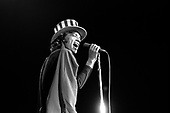 Mick Jagger, The Rolling Stones at Oakland Coliseum Arena, November 1969<br /> Photo Credit: Baron Wolman\AtlasIcons.com