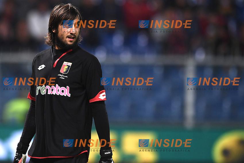 Genova 25-10-2016 Football Calcio  - campionato di calcio serie A / Genoa - Milan / foto Matteo Gribaudi/Image Sport/Insidefoto<br /> nella foto: Mattia Perin