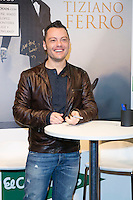 Tiziano Ferro attend the New Album Presentation at El Corte Ingles of Princesa, Madrid,  Spain. March 02, 2015.(ALTERPHOTOS/)Carlos Dafonte) /NORTEphoto.com