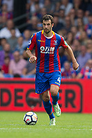 Crystal Palace's Luka Milivojevic in action     <br /> <br /> <br /> Photographer Craig Mercer/CameraSport<br /> <br /> The Premier League - Crystal Palace v Swansea City - Saturday 26th August 2017 - Selhurst Park - London<br /> <br /> World Copyright &copy; 2017 CameraSport. All rights reserved. 43 Linden Ave. Countesthorpe. Leicester. England. LE8 5PG - Tel: +44 (0) 116 277 4147 - admin@camerasport.com - www.camerasport.com