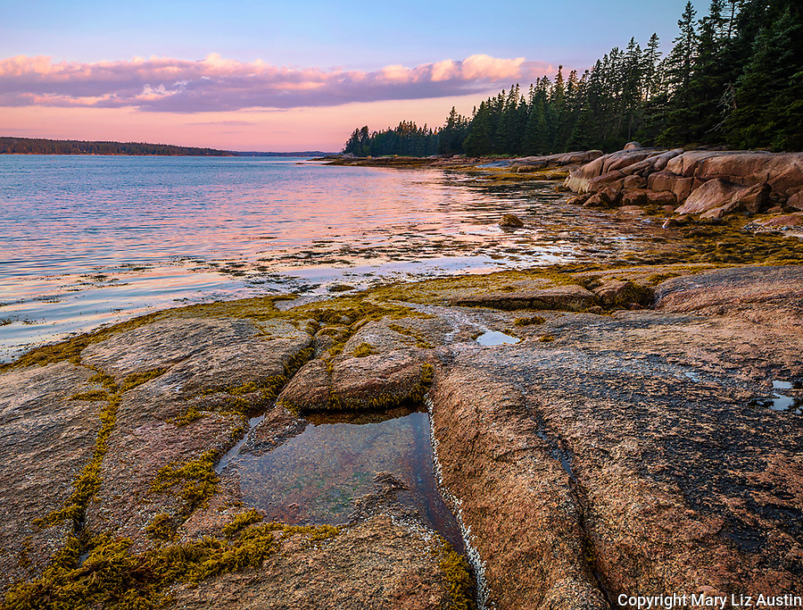 Deer Isle, Maine: Sunrise on Jericho Bay