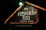 Idyllwild, CA.  Fireside Inn by Frank Balthis