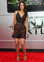 WESTWOOD, LOS ANGELES, CA, USA - AUGUST 03: Jordana Brewster at the Los Angeles Premiere Of Paramount Pictures' 'Teenage Mutant Ninja Turtles' held at Regency Village Theatre on August 3, 2014 in Westwood, Los Angeles, California, United States. (Photo by Celebrity Monitor)