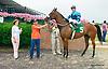 Svindahl winning at Delaware Park on 7/8/15