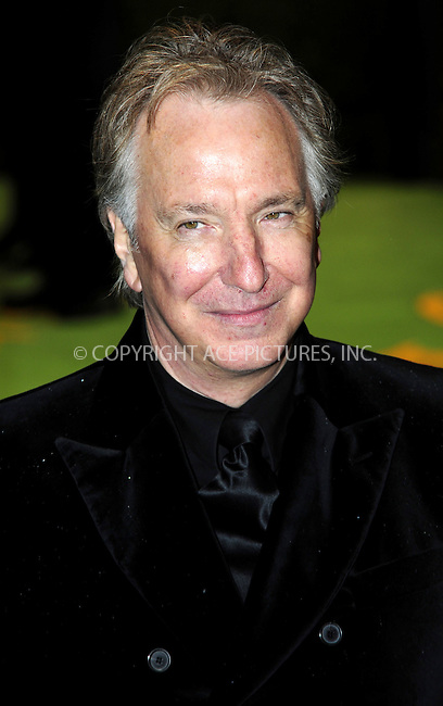 """WWW.ACEPIXS.COM . . . . .  ..... . . . . US SALES ONLY . . . . .....February 25 2010, New York City....Alan Rickman at the UK premiere of """"Alice in Wonderland"""" on February 25 2010 in London......Please byline: FAMOUS-ACE PICTURES... . . . .  ....Ace Pictures, Inc:  ..tel: (212) 243 8787 or (646) 769 0430..e-mail: info@acepixs.com..web: http://www.acepixs.com"""
