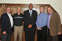 Pride of Maryland Basketball Tournament held a coaches dinner to introduce the sponsor to the schools competing.