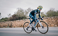 Jolanda Neff (SUI/Trek-Segafredo)<br /> <br /> Team Trek-Segafredo women's team<br /> training camp<br /> Mallorca, january 2019<br /> <br /> ©kramon