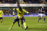 Amari'i Bell of Blackburn Rovers and Mahlon Romeo of Millwall during Millwall vs Blackburn Rovers, Sky Bet EFL Championship Football at The Den on 12th January 2019