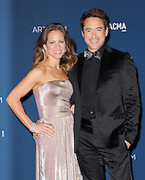 LOS ANGELES, CA - NOVEMBER 02: Susan Downey (nee Levin) &amp; Robert Downey Jr. at  LACMA 2013 Art + Film Gala held at LACMA  in Los Angeles, California on November 2nd, 2012 in Los Angeles, CA., USA.<br /> CAP/DVS<br /> &copy;DVS/Capital Pictures