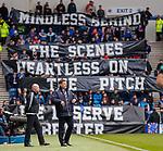 22.04.2018 Rangers v Hearts: Graeme Murty