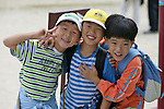 Young Korean Boys, Gyeongbok Palace