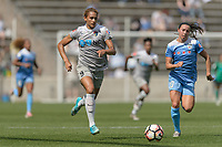 Bridgeview, IL - Saturday May 27, 2017: Lynn Williams during a regular season National Women's Soccer League (NWSL) match between the Chicago Red Stars and the North Carolina Courage at Toyota Park. The Red Stars won 3-2.