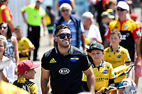 Nehe Milner-Skudder, Super Rugby Preseason - Hurricanes v Crusaders at Levin Domain, Levin, New Zealand on Saturday 2 February 2019. <br /> Photo by Masanori Udagawa. <br /> www.photowellington.photoshelter.com