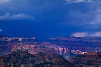 749220302 a summer monsoon thunderstorm forms over the canyon formatims storm along the road to cape royal on the north rim of grand canyon national park in northern arizona