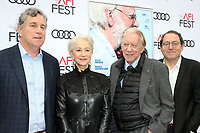 12 November 2017 - Hollywood, California - Michael Barker, Helen Mirren, Donald Sutherland, Tom Bernard. &quot;The Leisure Seeker&quot; AFI FEST 2017 Screening held at at the Egyptian Theatre.<br /> CAP/ADM/FS<br /> &copy;FS/ADM/Capital Pictures