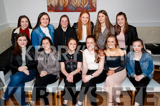 Orlaith O'Sullivan, Fenit, who celebrated her 17th birthday, with friends at La Scala restaurant, Tralee, on Friday night last were front l-r: Ciara Lynch, Emma O'Keeffe, Kate Lynch, Orlaith O'Sullivan, Rebecca Poultney, Clodagh McHugh. Back l-r; Anna Shaughnessy, Casey O'Donnell, Leanne Savage, Clara Moran Ciara Darcy and Laura Divane.