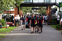 13th March 2020; Melbourne Grand Prix Circuit, Melbourne, Victoria, Australia; Formula One, Australian Grand Prix, Practice Day; Red Bull team arrives late