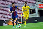 League Santander 2017/2018 - Game: 7.<br /> FC Barcelona vs UD Las Palmas: 3-0.<br /> Lionel Messi vs Jonathan Viera.