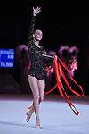 Ganna Rizatdinova (UKR), <br /> OCTOBER 4, 2015 - Rhythmic Gymnastics : <br /> AEON CUP 2015 Worldwide R.G. Club Championships <br /> at Tokyo Metropolitan Gymnasium, Tokyo, Japan. <br /> (Photo by AFLO SPORT)