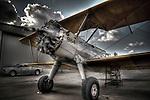 Stearman Bi Plane found at the Arizona wing of the Commemorative Air Force Museum in Arizona, USA
