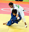 (T-B) Erika Miranda (BRA), Misato Nakamura (JPN),<br /> AUGUST 7, 2016 - Judo :<br /> Women's -52kg Contest for Bronze Medal at Carioca Arena 2 during the Rio 2016 Olympic Games in Rio de Janeiro, Brazil. (Photo by Enrico Calderoni/AFLO SPORT)