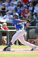 Jose Guillen, Kansas City Royals 2010 minor league spring training..Photo by:  Bill Mitchell/Four Seam Images.