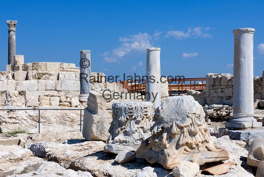 CYPRUS, near Limassol (Lemesos), Kourion: archaelogical excavation<br />