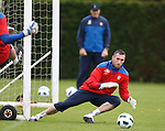 Allan McGregor watched closely by Jim Stewart