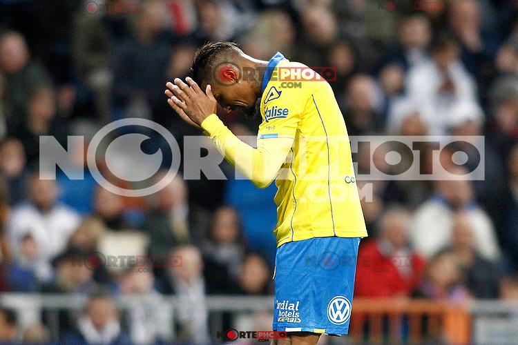 UD Las Palmas' Kevin-Prince Boateng during La Liga match. March 1,2017. (ALTERPHOTOS/Acero) /NortePhoto.com
