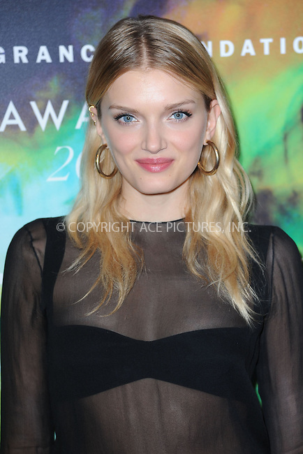 WWW.ACEPIXS.COM<br /> June 16, 2014 New York City<br /> <br /> Lily Donaldson attending the 2014 Fragrance Foundation Awards on June 16, 2014 in New York City.<br /> <br /> Please byline: Kristin Callahan/AcePictures<br /> <br /> ACEPIXS.COM<br /> <br /> Tel: (212) 243 8787 or (646) 769 0430<br /> e-mail: info@acepixs.com<br /> web: http://www.acepixs.com
