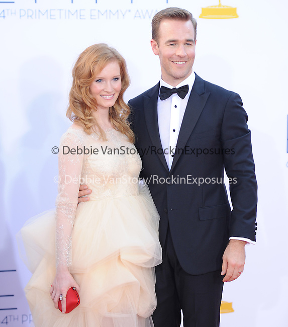 James Van Der Beek at The 64th Anual Primetime Emmy Awards held at Nokia Theatre L.A. Live in Los Angeles, California on September  23,2012                                                                   Copyright 2012 Hollywood Press Agency