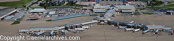 aerial photograph, Louisville International Airport, Sandiford Field, SDF, Louisville, Kentucky