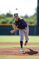 Colorado Rockies pitcher Kyle Freeland (33) during an instructional league game against the San Francisco Giants on October 7, 2015 at the Giants Baseball Complex in Scottsdale, Arizona.  (Mike Janes/Four Seam Images)