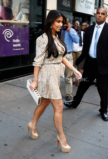 WWW.ACEPIXS.COM . . . . .  ....October 5 2011, New York City....Kim Kardashian outside her midtown hotel on October 5 2011 in New York City....Please byline: CURTIS MEANS - ACE PICTURES.... *** ***..Ace Pictures, Inc:  ..Philip Vaughan (212) 243-8787 or (646) 679 0430..e-mail: info@acepixs.com..web: http://www.acepixs.com