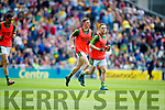 Jonathan Lyne and Darran O'Sullivan Kerry v Galway in the All Ireland Senior Football Quarter Final at Croke Park on Sunday.