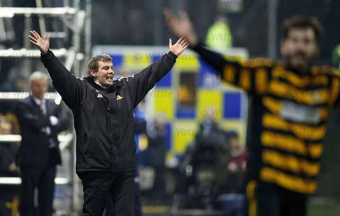 Alloa boss Barry Smith