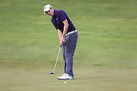 Matt Fitzpatrick (ENG) putts on the 4th green during Friday's Round 2 of the 117th U.S. Open Championship 2017 held at Erin Hills, Erin, Wisconsin, USA. 16th June 2017.<br /> Picture: Eoin Clarke | Golffile<br /> <br /> <br /> All photos usage must carry mandatory copyright credit (&copy; Golffile | Eoin Clarke)