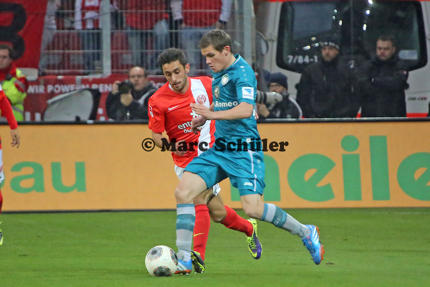 Sebastian Jung (Eintracht) - 1. FSV Mainz 05 vs. Eintracht Frankfurt, Coface Arena, 12. Spieltag